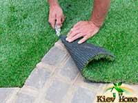 підрізування газону