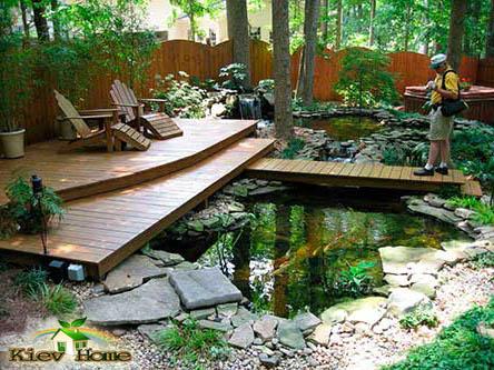 строительство пруда киев с зоной отдыха