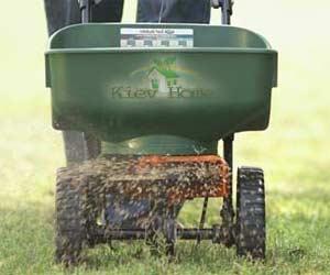 сеялка для удобрения газона