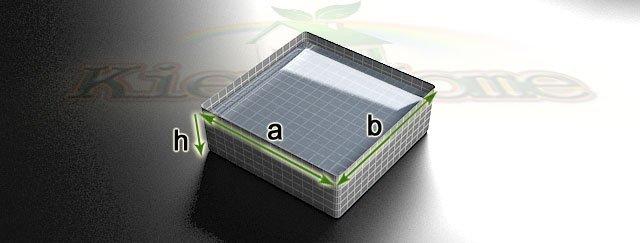 калькулятор объема прямоугольного водоема