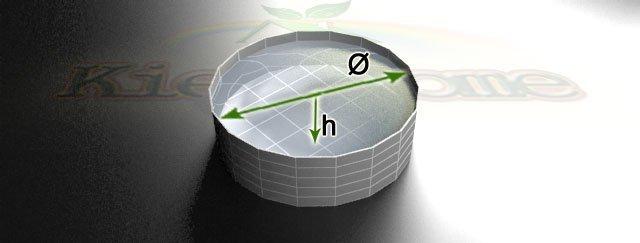 калькулятор для цилиндрических водоемов