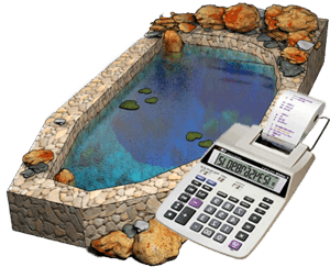 калькулятор для расчета стоимости прудов