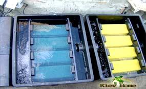 Система фильтрации для пруда