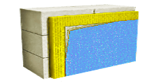 Утеплення фасаду мінеральною ватою