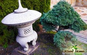 Применение скульптуры в дизайне китайского ландшафта